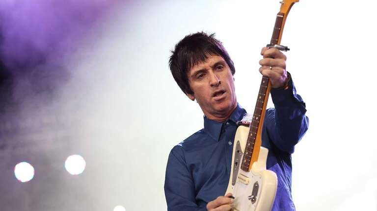 British musician Johnny Marr performs at the Coachella