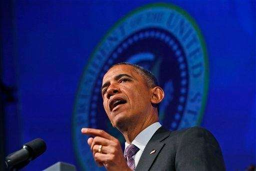 President Barack Obama speaks at the 2013 Planned