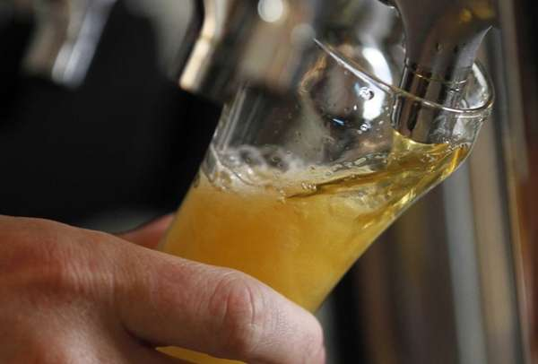 Craft beers are gaining popularity.