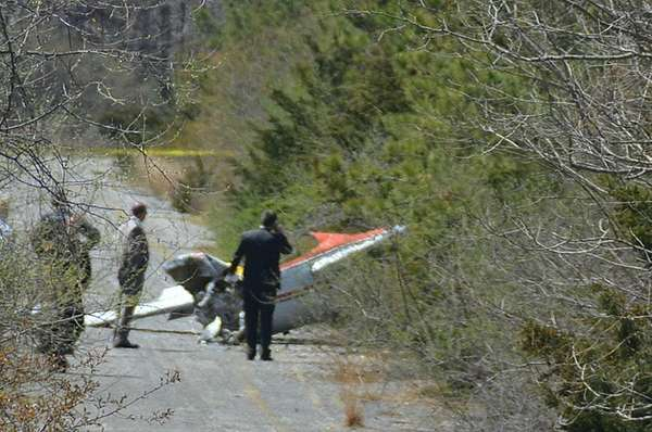 One person was killed after his glider crashed