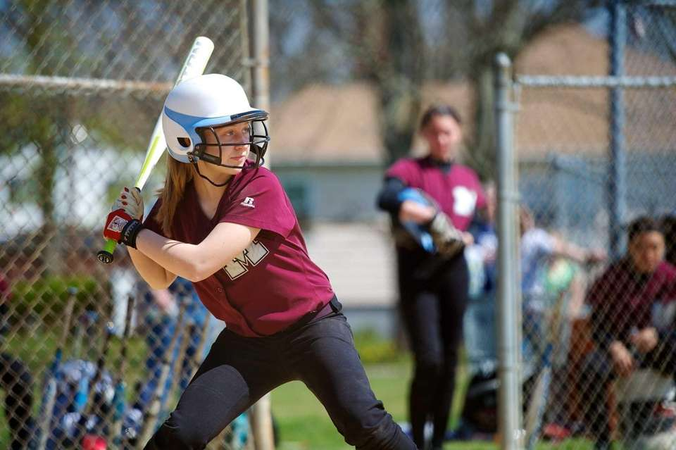 Mepham second baseman Alexa Morris focuses on the
