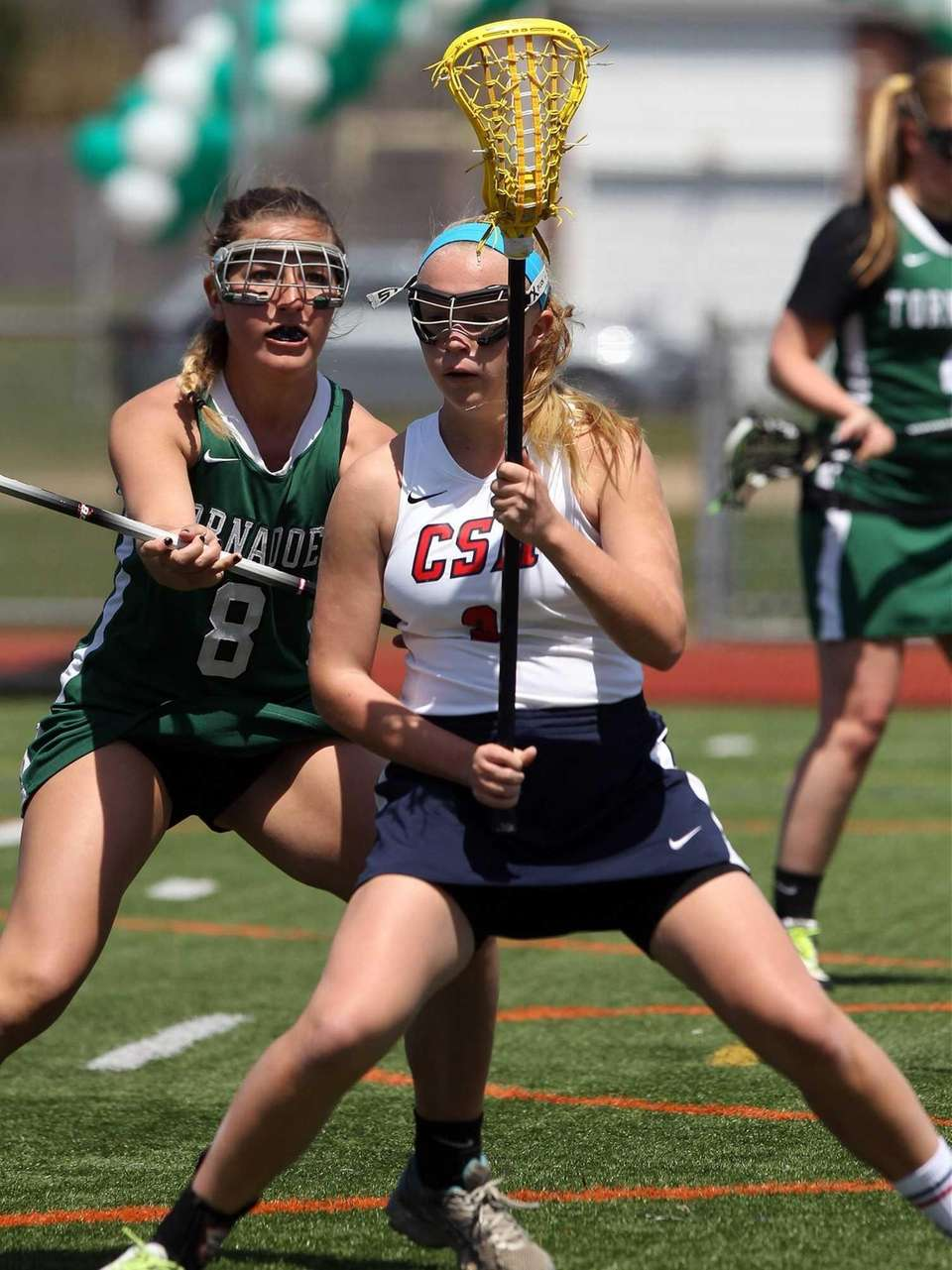 Cold Spring Harbor's Ashley Lynch moves in near