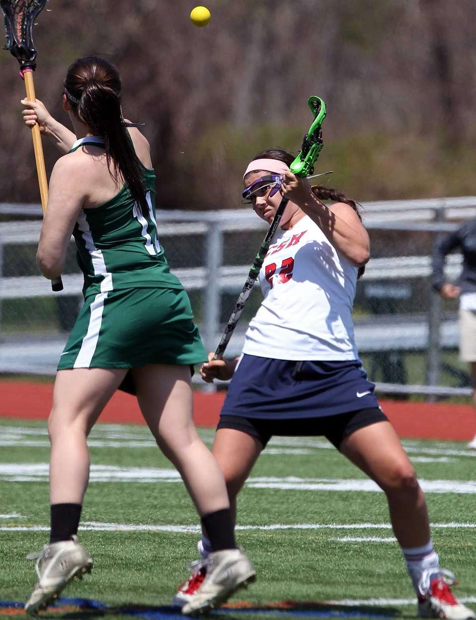 Harborfields' Katie White goes against Cold Spring Harbor's