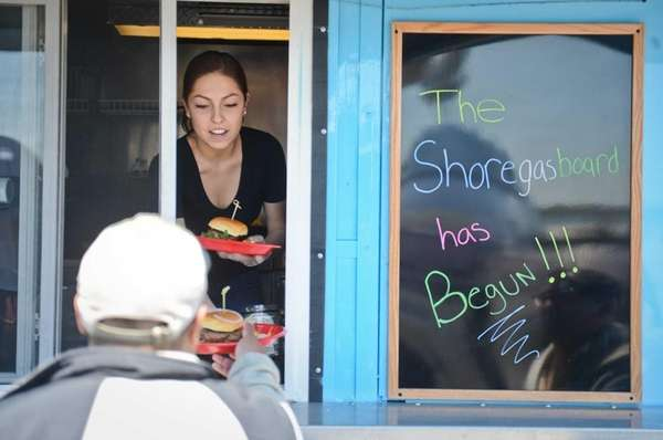 City officials hope the food trucks, such as