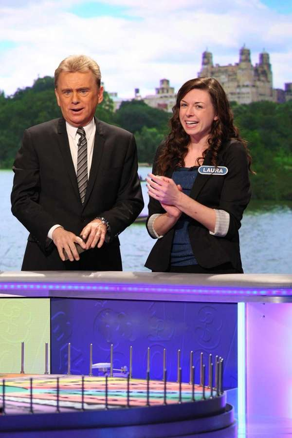 Coram's Laura Bennett hangs out with host Pat
