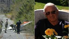 The pilot, Vincent Petruso, 74, was the only