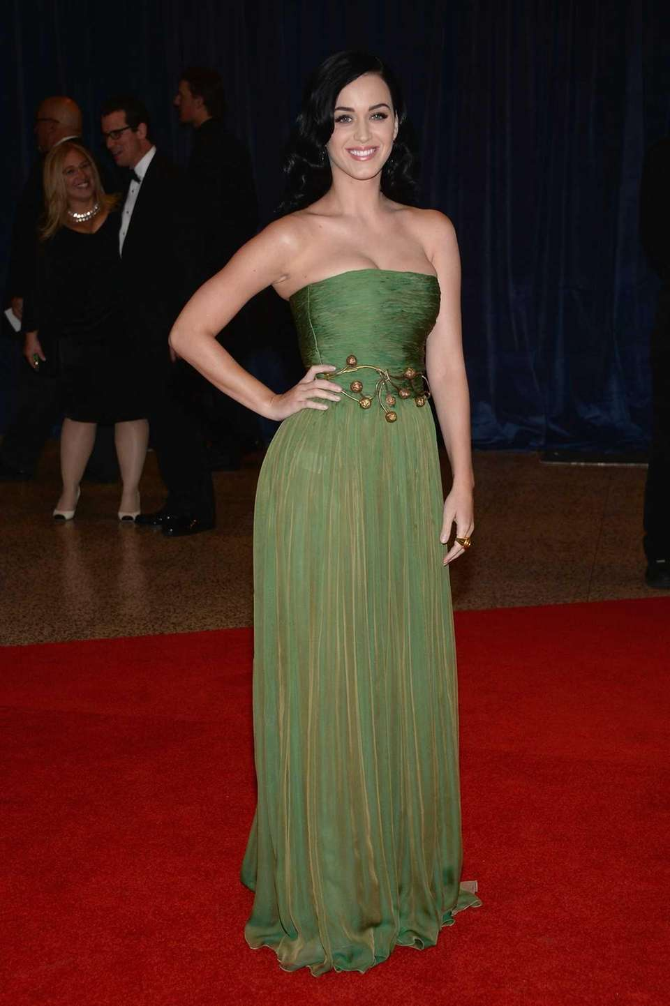Katy Perry attends the White House Correspondents' Association