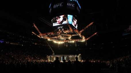 UFC 159 at the Prudential Center in Newark,
