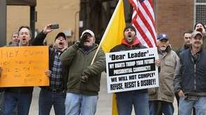 Protesters in Rochester object to the new gun