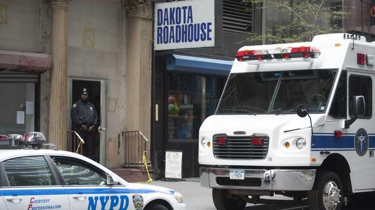 A New York City Medical Examiner Mobile Command