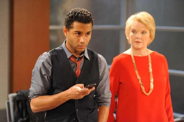 Corbin Bleu as Jeffrey King and Erika Slezak
