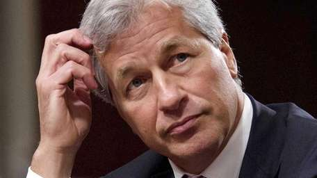 JP Morgan Chase chief executive Jamie Dimon will