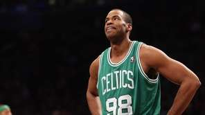 Jason Collins of the Boston Celtics takes a