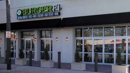 This is the new BurgerFi in Oceanside. (2013)