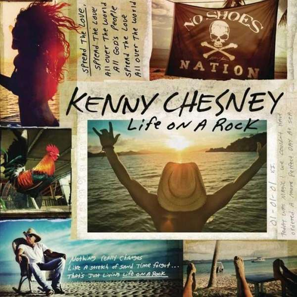 "Kenny Chesney releases ""Life On a Rock""on April"