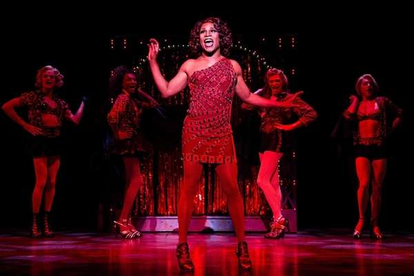 "Billy Porter performs in ""Kinky Boots."""
