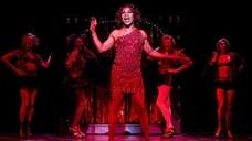 Billy Porter performs in