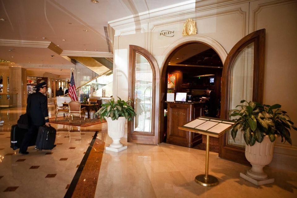 Rein restaurant, located inside the Garden City Hotel.
