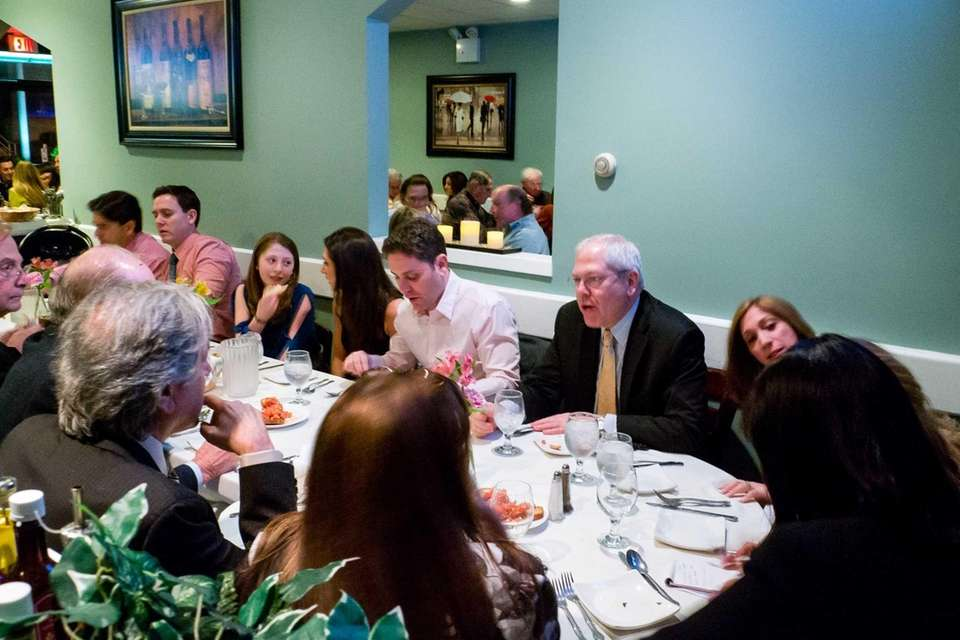 The Zinn family dines at Cucina di Vargas