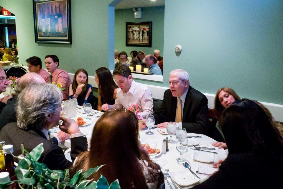 The Zinn family dines at Cucina di Vargas
