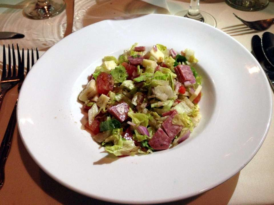Chopped Italian salad at Cucina di Vargas is