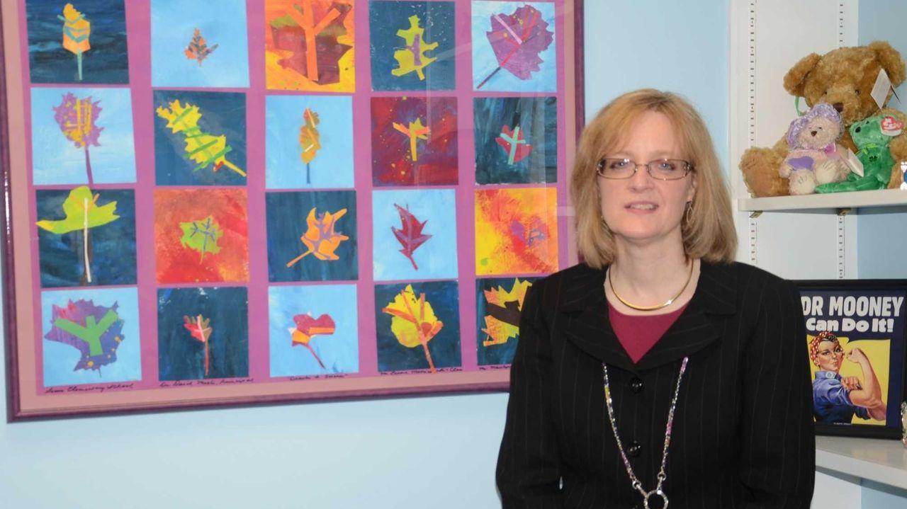 Kathleen Mooney, 50, of Locust Valley, has been