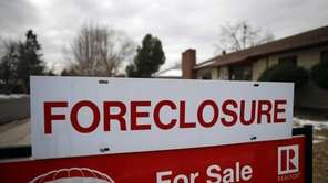New York State posted the third highest foreclosure