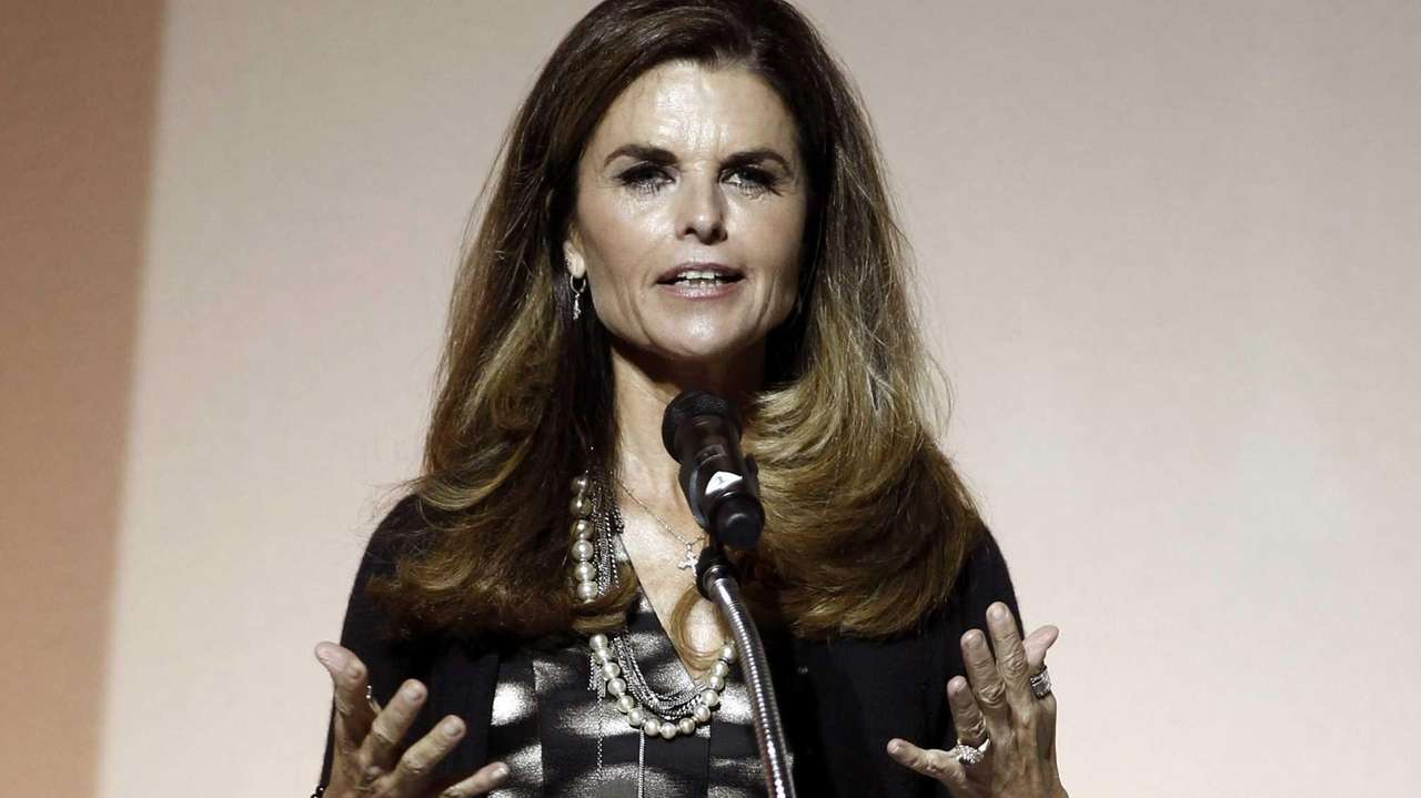 Maria Shriver speaks at the 7th Annual MOCA