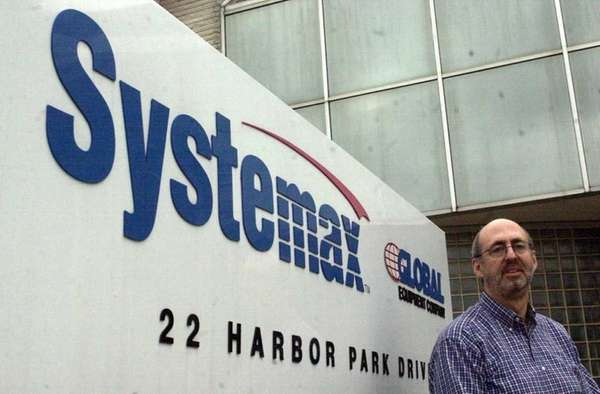 Systemax's revenue fell to $880.7 million during January,