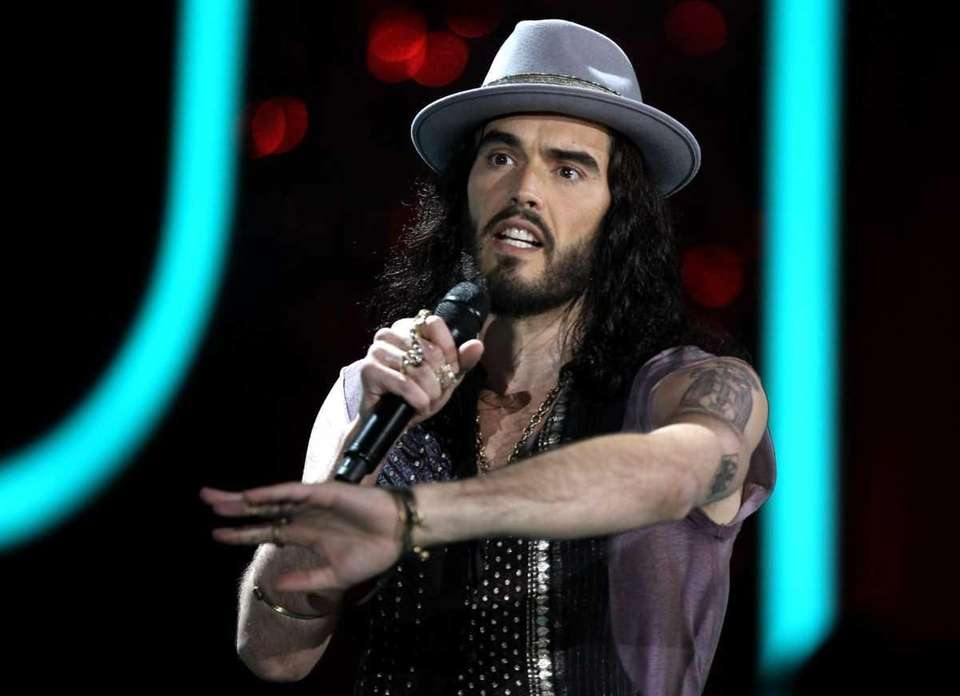 English comedian, actor and author, Russell Brand says