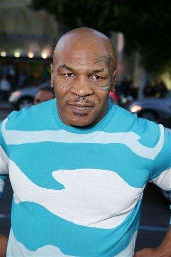 Former heavyweight boxing champion Mike Tyson says he
