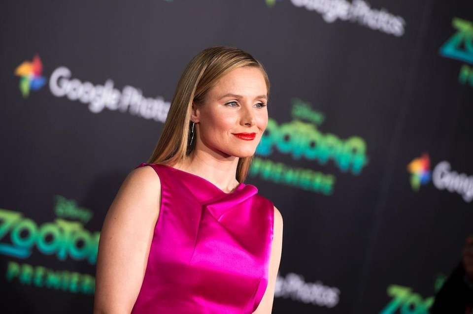 Actress Kristen Bell was on a vegan diet