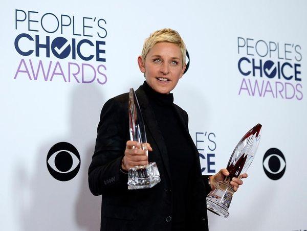 Animal rights activist and comedian Ellen DeGeneres was