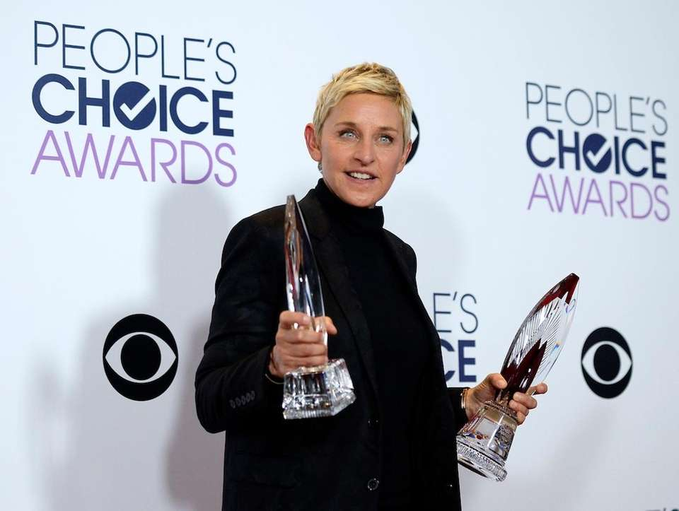 Animal rights activist and comedian Ellen DeGeneres was