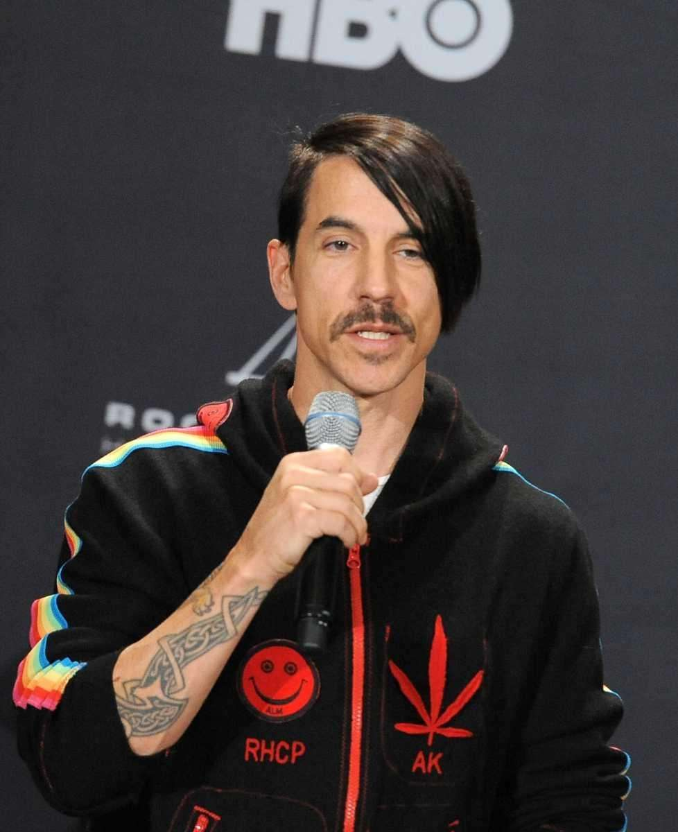 Anthony Kiedis of Red Hot Chili Peppers was
