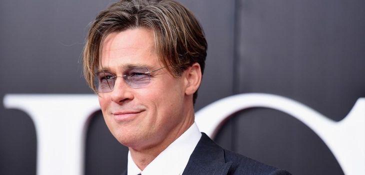 Actor Brad Pitt calls himself a vegetarian. (Dec.