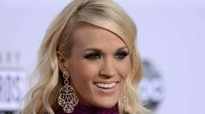 Country singer Carrie Underwood became a vegetarian after