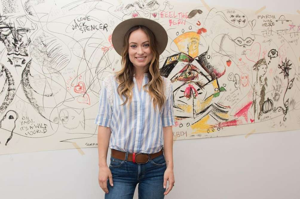 Actress Olivia Wilde is a longtime vegetarian, who