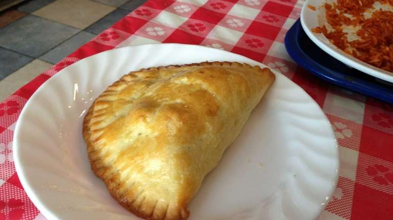 Flaky and savory meat pie at The Ellas