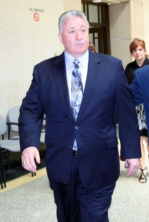 Retired Deputy Chief of Patrol John Hunter pleaded