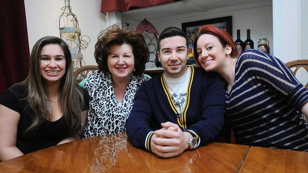 Growing up, Vinny Guadagnino wouldn't invite friends over