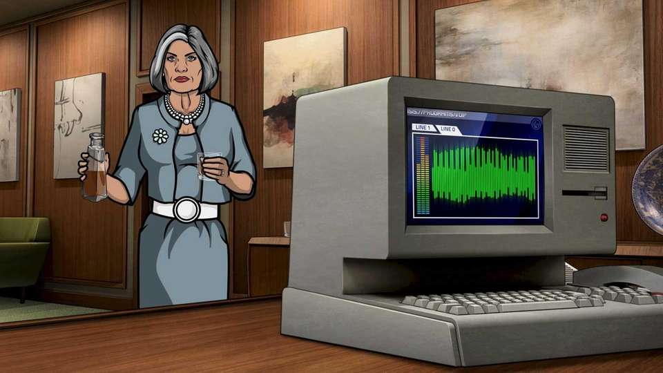 Malory Archer (voiced by Jessica Walter): A long