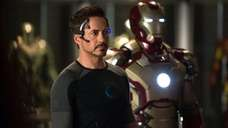 Robert Downey Jr., as Tony Stark/Iron Man, in