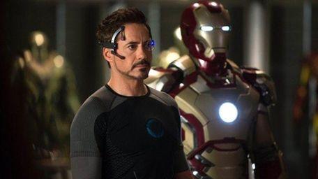 Robert Downey Jr., as Tony Stark/Iron Man, in
