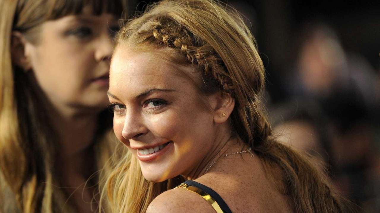 Lindsay Lohan at the
