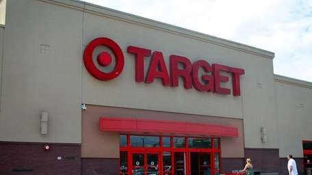 Shoppers enter the Target store in Valley Stream