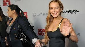 Lindsay Lohan, a cast member in