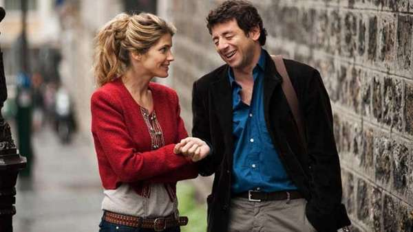 Alice Taglioni as Alice and Patrick Bruel as