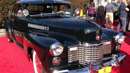 A 1941 Cadillac is displayed at a recent