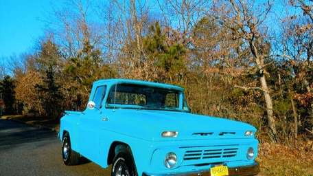 The 1962 Chevrolet C-10 pickup truck owned by